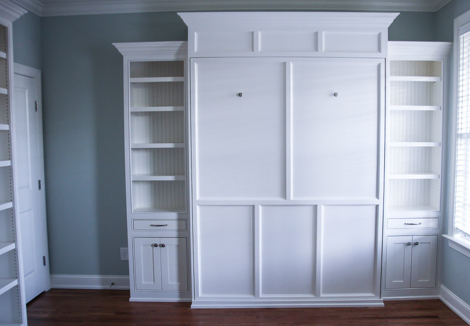 North Raleigh Murphy Bed And Built Ins Distinctive Millworks
